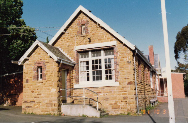 Eltham Primary School Dalton St Colour 1 - Shire of Eltham Heritage Study 1992