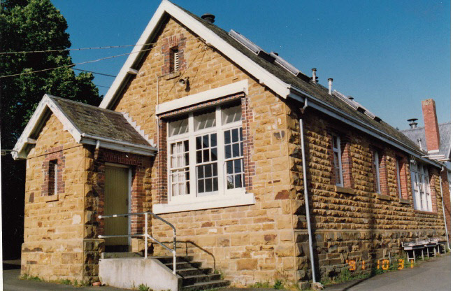 Eltham Primary School Dalton St Colour 2 - Shire of Eltham Heritage Study 1992