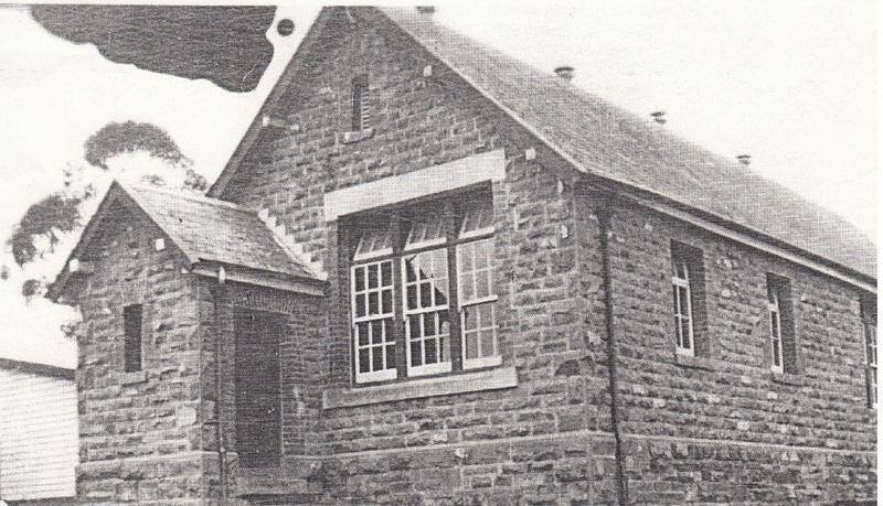 Eltham Primary School Dalton St Black & White 2 - Shire of Eltham Heritage Study 1992