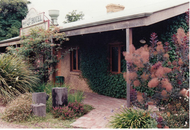 Former Wellers Pub at Pitman Cnr Kangaroo Ground Colour 1 - Shire of Eltham Heritage Study 1992