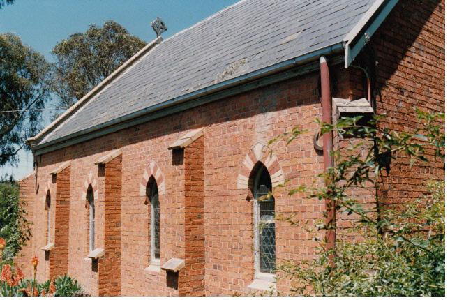 Presbyterian Church Eltham Yarra Glen Rd Colour 5 - Shire of Eltham Heritage Study 1992