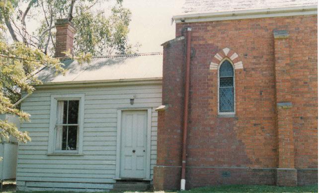 Presbyterian Church Eltham Yarra Glen Rd Colour 6 - Shire of Eltham Heritage Study 1992