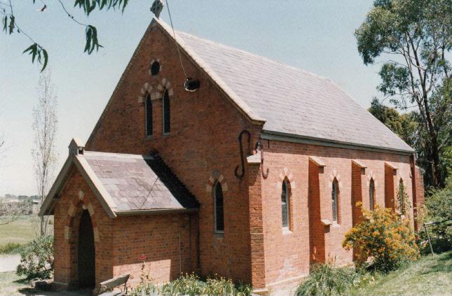 Presbyterian Church Eltham Yarra Glen Rd Colour 9 - Shire of Eltham Heritage Study 1992