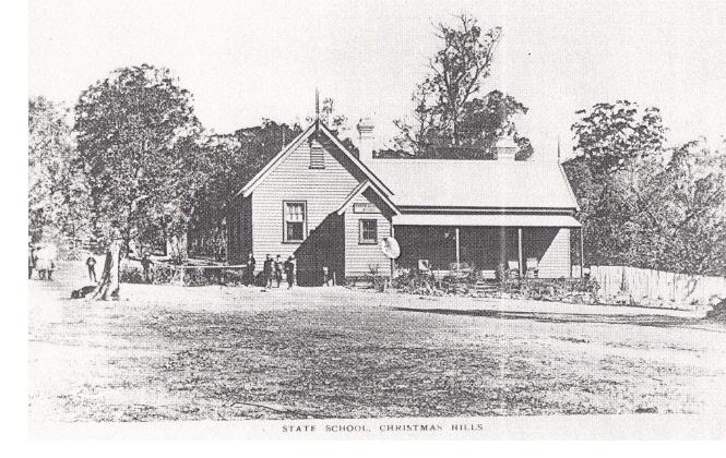 Kangaroo Primary State School Elth Yarr Glen Rd Black & White 2 - Shire of Eltham Heritage Study 1992