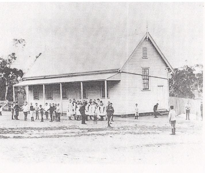 Kangaroo Primary State School Elth Yarr Glen Rd Black & White 3 - Shire of Eltham Heritage Study 1992