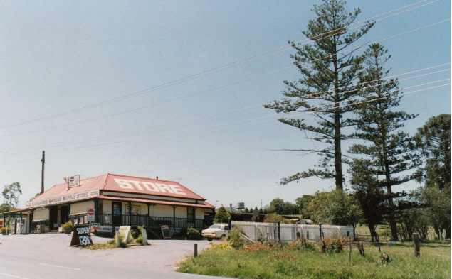 Kangaroo Ground General Store Post Office Pines Colour 1 - Shire of Eltham Heritage Study 1992