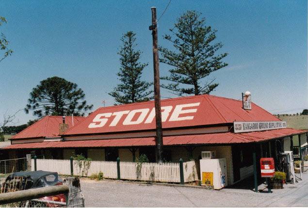 Kangaroo Ground General Store Post Office Pines Colour 2 - Shire of Eltham Heritage Study 1992