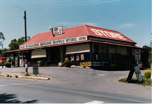 Kangaroo Ground General Store Post Office Pines Colour 6 - Shire of Eltham Heritage Study 1992