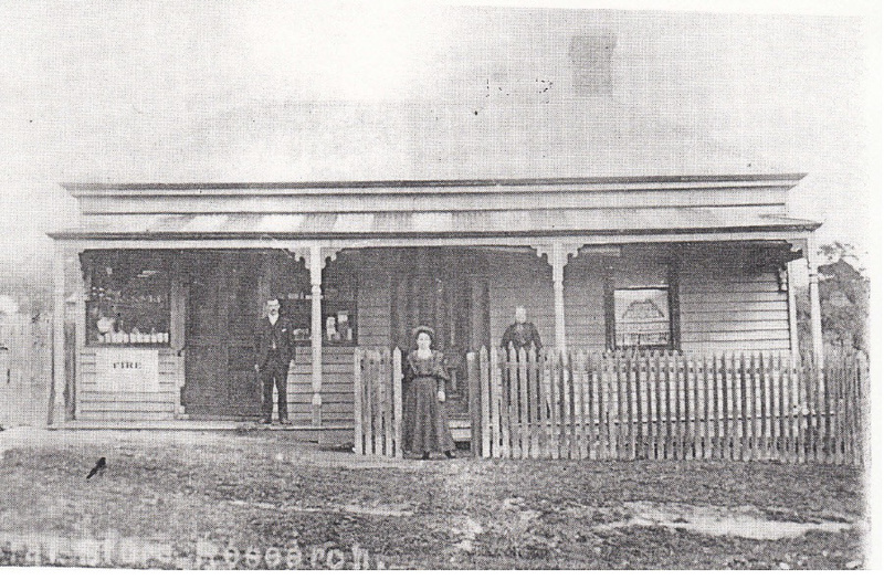 Kangaroo Ground General Store Post Office Pines Black & White 4 - Shire of Eltham Heritage Study 1992