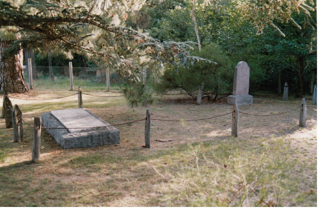 Hurst Family Cemetery Greysharps Rd Colour 1 - Shire of Eltham Heritage Study 1992