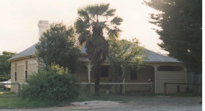 Railways Residence Palm Cypress Trees Hurstbridge Colour 4 - Shire of Eltham Heritage Study 1992