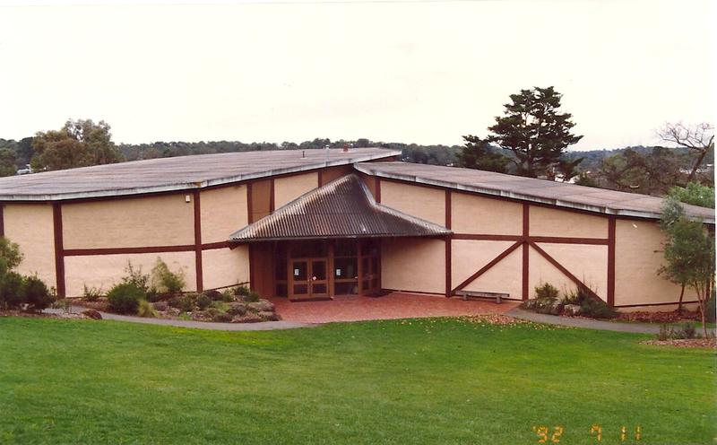 Eltham Community Centre Main Rd Eltham Colour 1 - Shire of Eltham Heritage Study 1992
