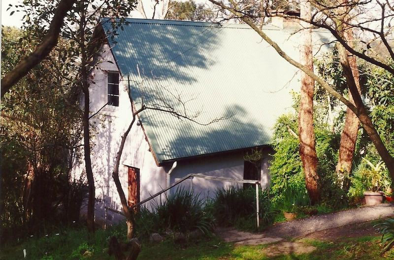 Hazels Cottage Eltham Colour - Shire of Eltham Heritage Study 1992