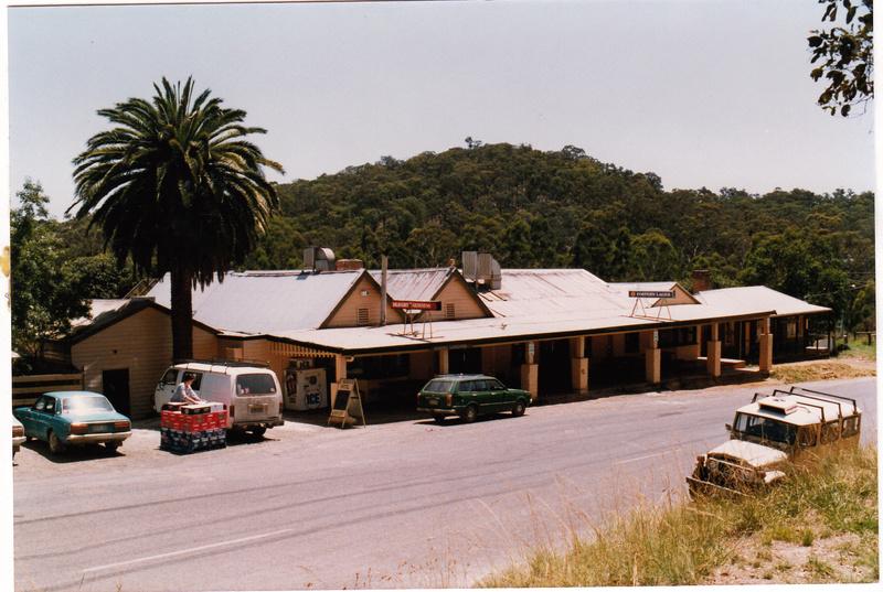 St Andrews Hotel Palm KangGround St Andrews Rd Black & White 4 - Shire of Eltham Heritage Study 1992