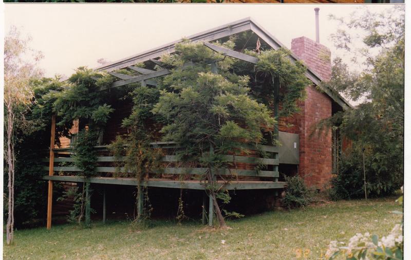 Former Headmasters House Koornong Experimental School Colour 3 - Shire of Eltham Heritage Study 1992