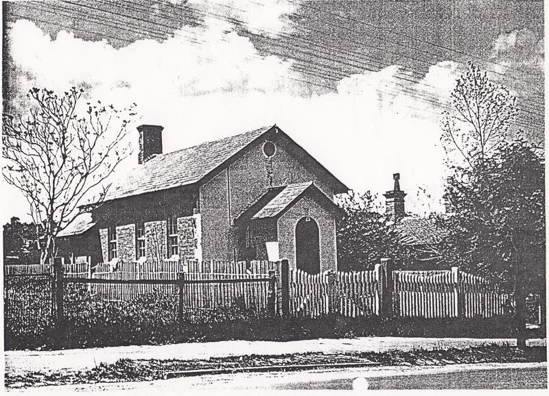 Court House 730 Main Rd Eltham Black & White 2 - Shire of Eltham Heritage Study 1992