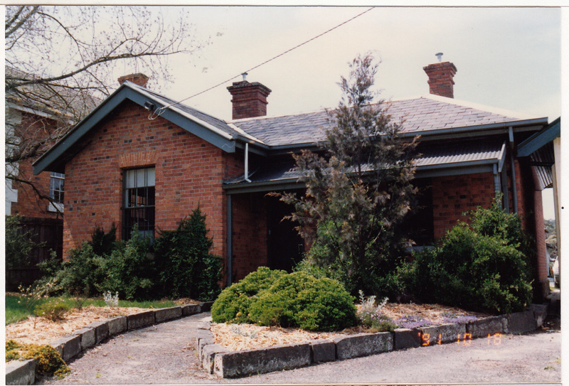 Former Police Complex 728 Main Rd Eltham Colour 1 - Shire of Eltham Heritage Study 1992