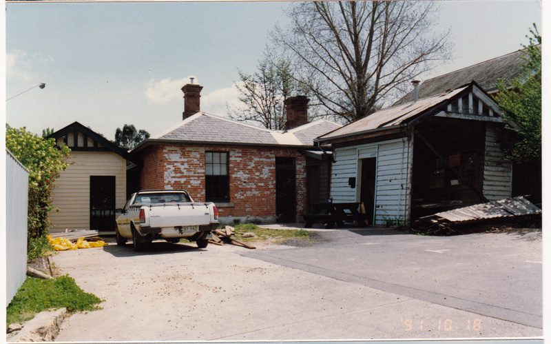 Former Police Complex 728 Main Rd Eltham Colour 2 - Shire of Eltham Heritage Study 1992