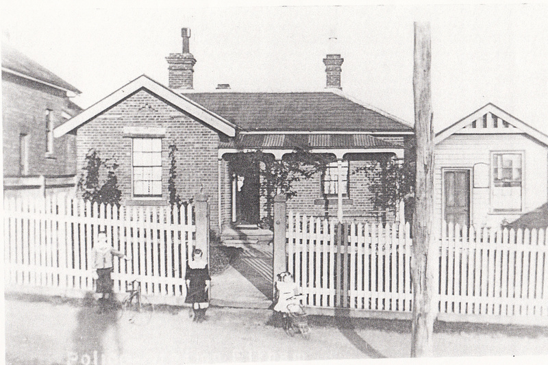 Former Police Complex 728 Main Rd Eltham Black & White 4 - Shire of Eltham Heritage Study 1992