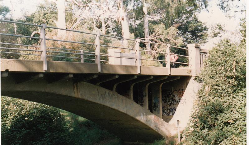 Hurstbridge Monier Bridge Colour - Shire of Eltham Heritage Study 1992