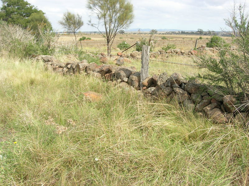 Dry Stone Wall K164 - Eastern Boundary