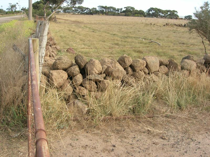 Dry Stone Wall F181 - western boundary