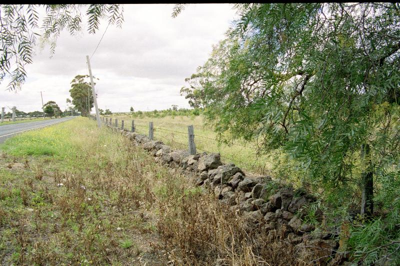 Dry Stone Wall B127 - eastern boundary