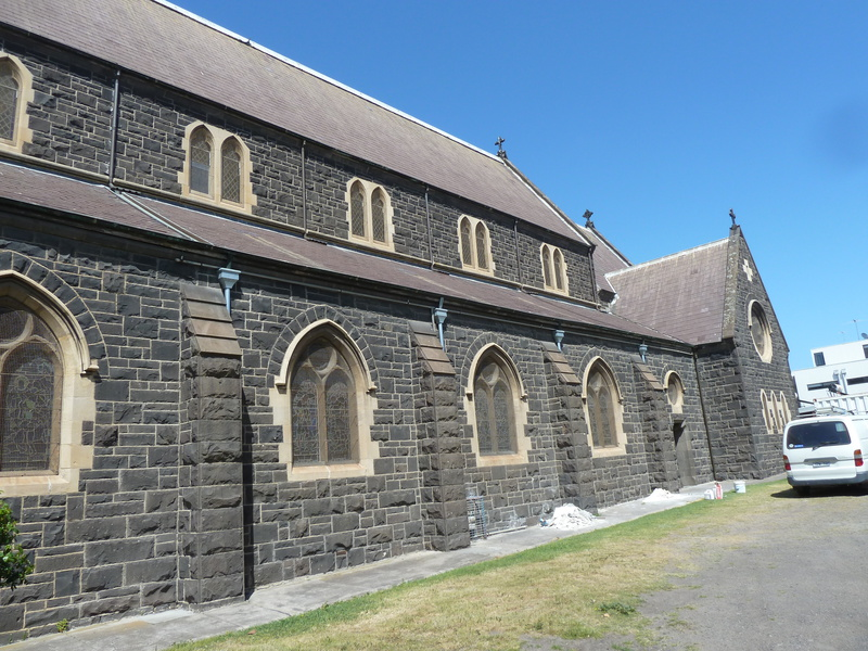 H1734 HOLY TRINITY CHURCH, VICRAGE AND HALL LHA 2015 2.JPG