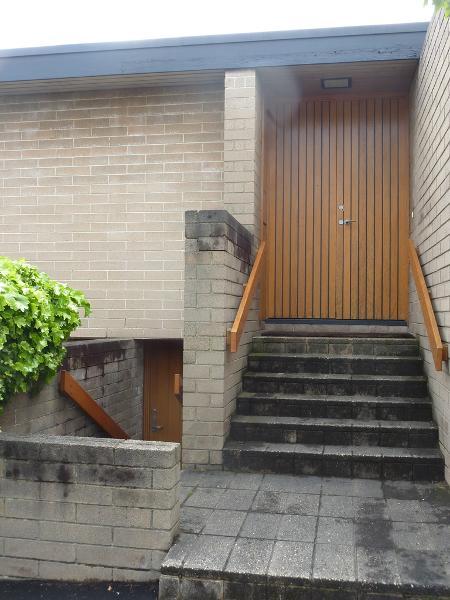 Fenner House detail of entrance Sept 2016