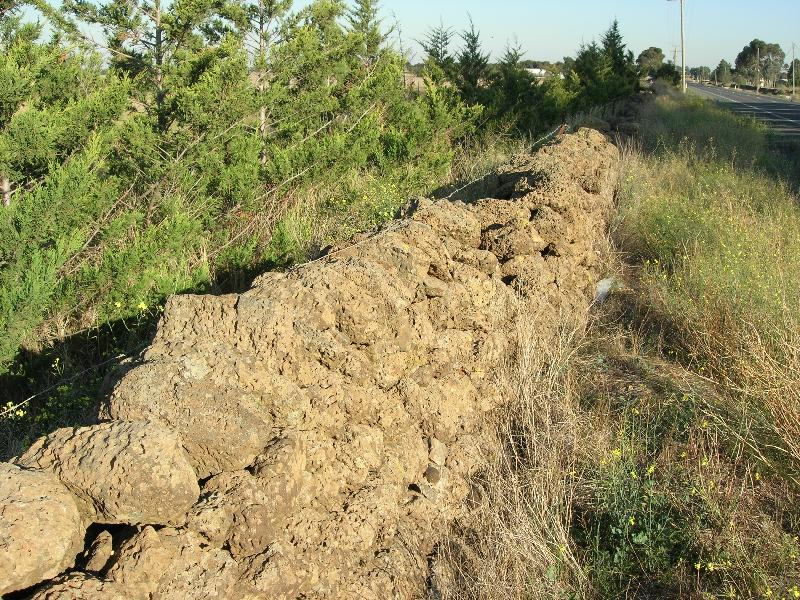 Dry Stone Wall N240 - Sinclairs Road Boundary