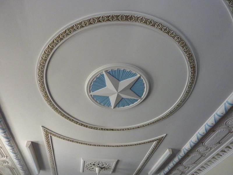 Sandringham_Masonic_Hall_ceiling_of_upper_foyer.JPG