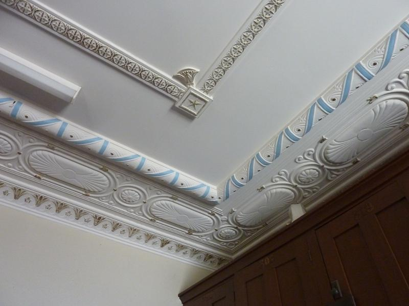 Sandringham_Masonic_Hall_ceiling of upper_foyer.JPG