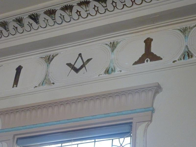 Sandringham_Masonic_Hall_loge_room_wall_detail.JPG