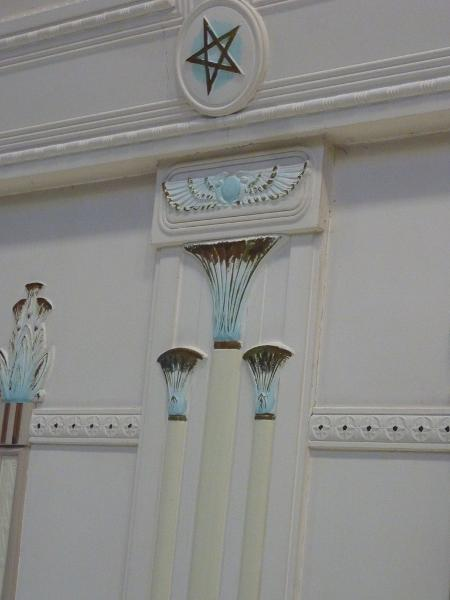 Sandringham_Masonic_Hall_lodge_room_wall_detail.JPG