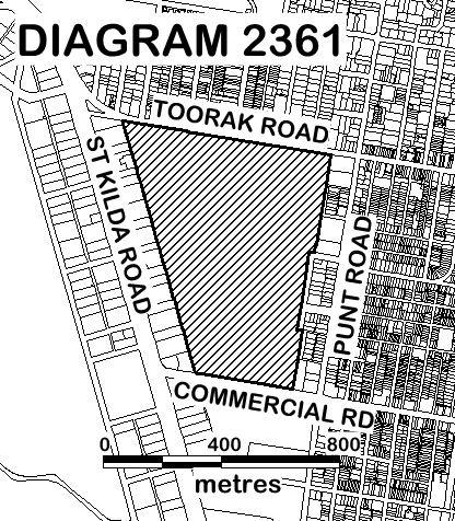 Fawkner Park Extent Diagram 2361