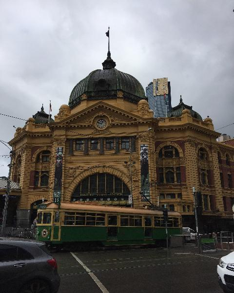 FLINDERS STREET RAILWAY STATION COMPLEX October 2016