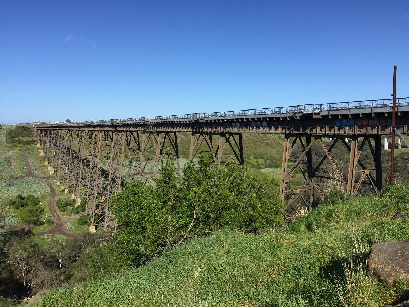 RAIL BRIDGE (ALBION VIADUCT) September 2016