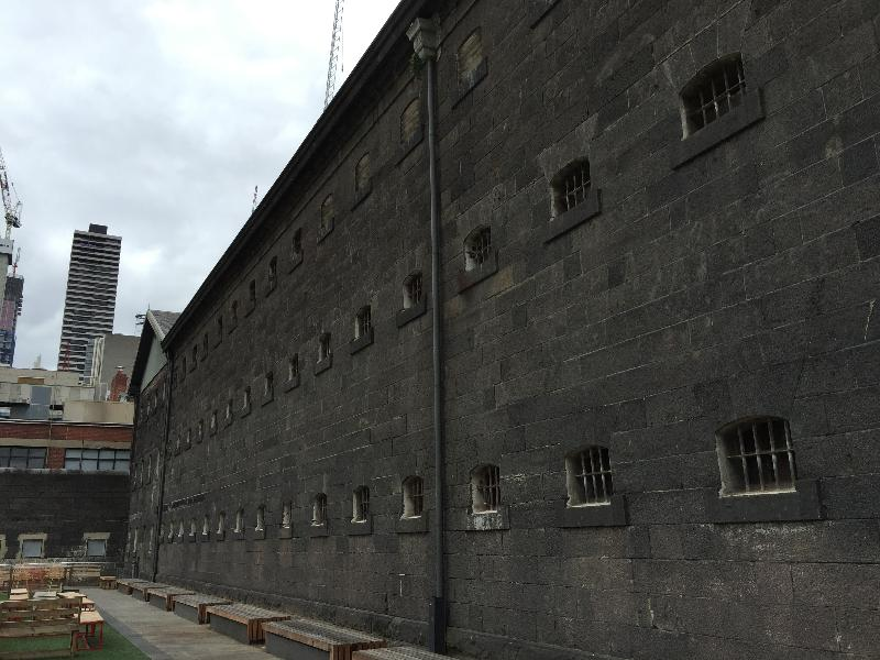 OLD MELBOURNE GAOL Nov 2016