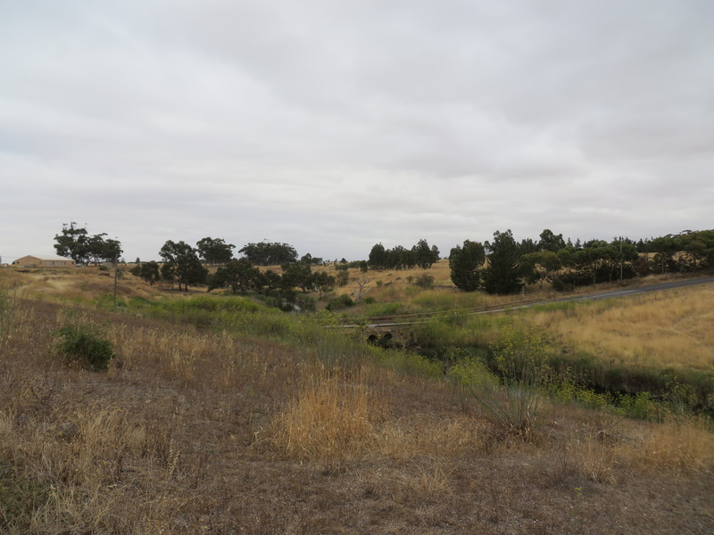 Stoneleigh Homestead Complex - view of Kororoit Creek to the north of the homestead