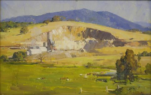 The Lime Kiln, Arthur Streeton, 1935.jpg