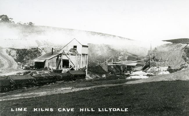 pre 1900s view of cutting and tunnel, (Yarra Ranges Museum).jpg