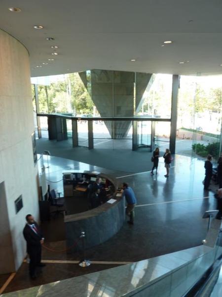 Main Spring Street foyer from escalator