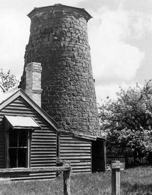 1974, windmill and cottage.gif
