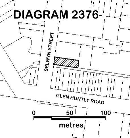 Former Elsternwick Fire Station EXTENT DIAGRAM 2376