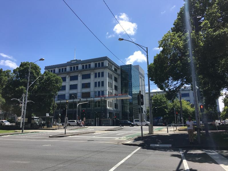 1924 building fronting Victoria Parade