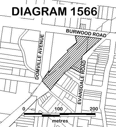 HAWTHORN RAILWAY STATION COMPLEX EXTENT DIAGRAM 1566