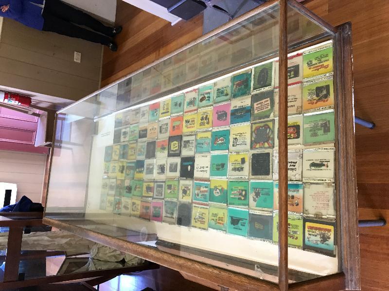 Memorial Hall Koroit all glass advertising slides.JPG
