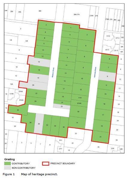 Surrey Hills Redvers - Kennealy Street Residential Precinct Map.JPG