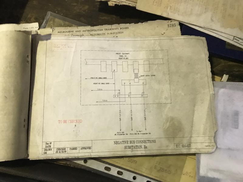 Substation circuit diagram