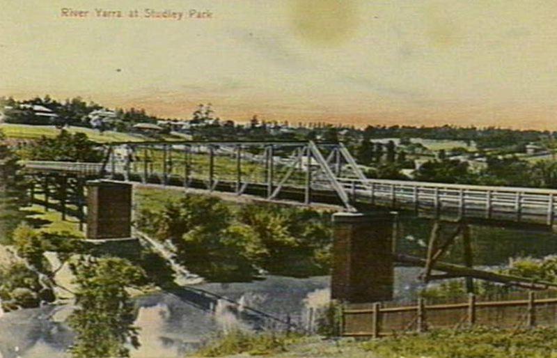 Walmer Street Bridge - c1908